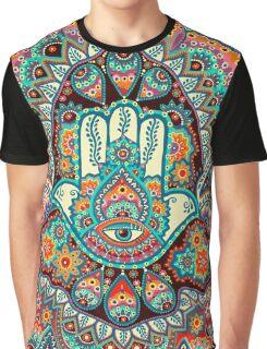 Hamsa Hand Graphic T-Shirt