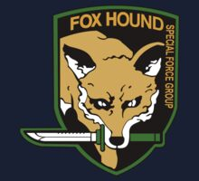 FOXHOUND METAL GEAR (1) Kids Tee