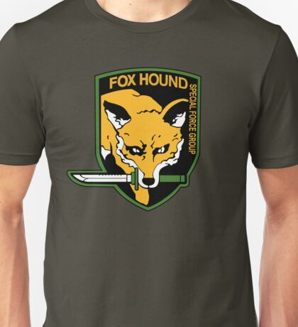 FOXHOUND METAL GEAR (1) Unisex T-Shirt
