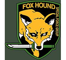 FOXHOUND METAL GEAR SOLID Photographic Print