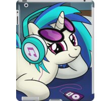 The Audiophile (Vinyl Scratch Poster) iPad Case/Skin