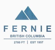 Fernie Ski Resort British Columbia by CarbonClothing