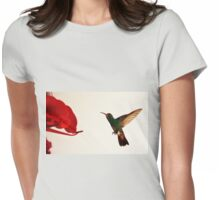 Hummingbird In Tulua, Colombia III Womens Fitted T-Shirt