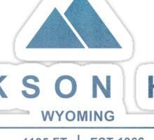 Jackson Hole Ski Resort Wyoming Sticker