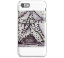 Happy glamping iPhone Case/Skin