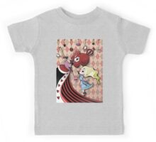 Alice and Red Queen by Lolita Tequila Kids Tee