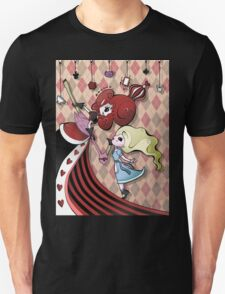 Alice and Red Queen by Lolita Tequila Unisex T-Shirt