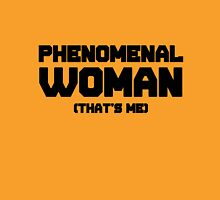 Phenomenal Woman, inspired by Maya Angelous Womens Fitted T-Shirt