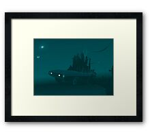 Desolate Invasion Framed Print