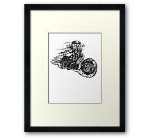 Bobber Rider Framed Print