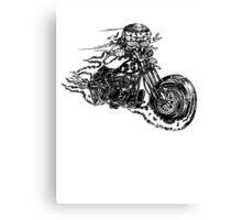 Bobber Rider Canvas Print