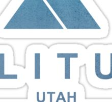 Solitude Ski Resort Utah Sticker