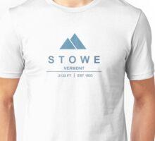 Stowe Ski Resort Vermont Unisex T-Shirt