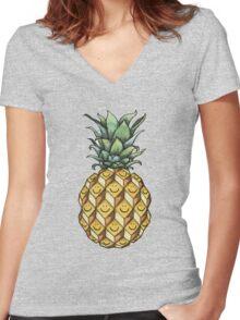 Fruitful Women's Fitted V-Neck T-Shirt