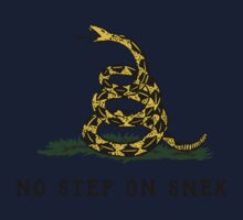 No Step On Snek Snake T-Shirt One Piece - Long Sleeve