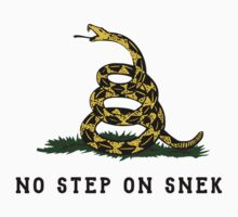 No Step On Snek Snake T-Shirt Kids Tee