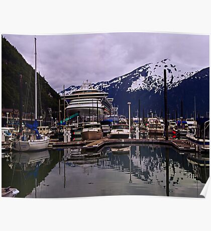 Small Boat Harbour Poster