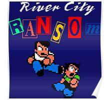 RIVER CITY RANSOM - NINTENDO Poster