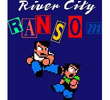 RIVER CITY RANSOM - NINTENDO Photographic Print