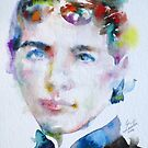 LAURA INGALLS WILDER - watercolor portrait by lautir