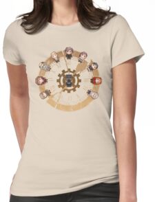 Retro Time Dilemma (US Ver.) Womens Fitted T-Shirt