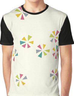Colour Wheels Graphic T-Shirt