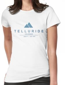 Telluride Ski Resort Colorado Womens Fitted T-Shirt