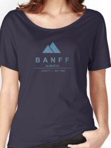 Banff Ski Resort Alberta Women's Relaxed Fit T-Shirt