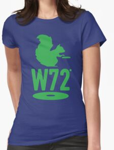 DJ Squirrel T-shirt Womens Fitted T-Shirt