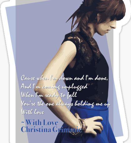 #WithLove Sticker