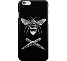Bee and ink nibs iPhone Case/Skin