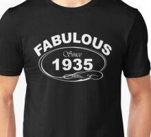 Fabulous Since 1935 Unisex T-Shirt