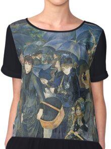 Renoir Auguste - The Umbrellas. Auguste Renoir Umbrellas Chiffon Top