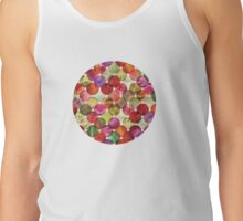 Macro floral bubbles Tank Top