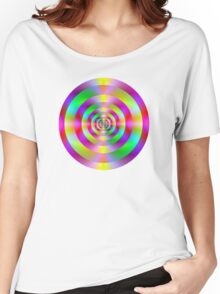 Psychedelic Rings Women's Relaxed Fit T-Shirt