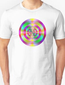 Psychedelic Rings Unisex T-Shirt