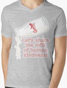 Milk of Human Kindness Mens V-Neck T-Shirt