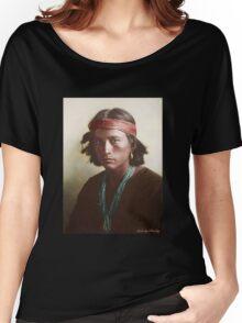 Navajo Boy 1907 Women's Relaxed Fit T-Shirt