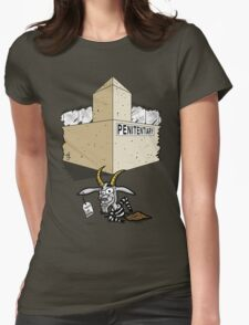 Escape Goat Womens Fitted T-Shirt