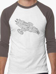 Fire Fly Class Men's Baseball ¾ T-Shirt
