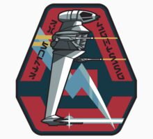 B-WING SQUADRON PATCH One Piece - Long Sleeve
