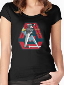 B-WING SQUADRON PATCH Women's Fitted Scoop T-Shirt