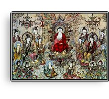 """""""SONG DYNASTY"""" Ancient Chinese Print Canvas Print"""