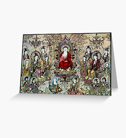 """""""SONG DYNASTY"""" Ancient Chinese Print Greeting Card"""