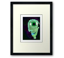 Learn how to smile Framed Print