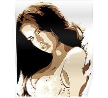 Adrianna Lima Vector Illustration Poster