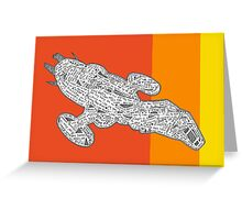 Fall Fire Fly Class Jayne Style Greeting Card