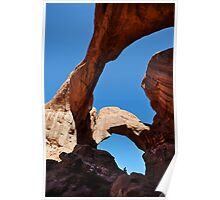 Double Arch, Arches National Park, Utah, USA. Poster