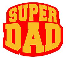 Super Dad Hero Logo by Style-O-Mat