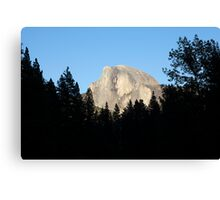 Half Dome from Sentinel Bridge, Yosemite National Park. Canvas Print